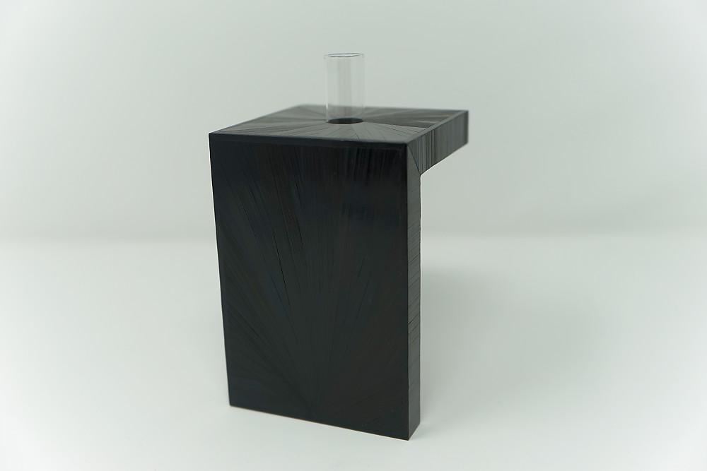 Vase Soleil (schwarz)