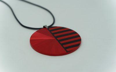 Kette Pop (schwarz – rot)
