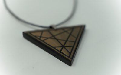 Kette Funambule (schwarz bronze)