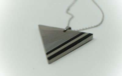 Kette pop (schwarz -grau)