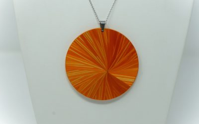 Kette Soleil (orange)