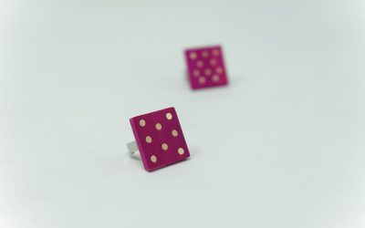 Ring A pois! (pink – natur)