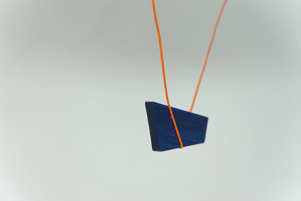 Kette Équilibre (blau orange)
