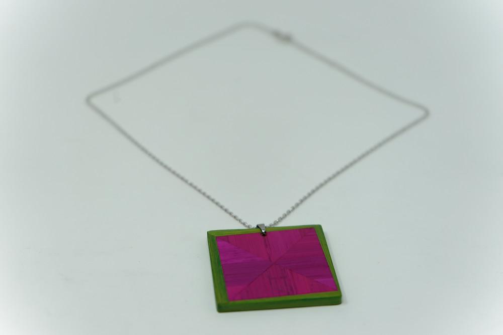 Kette Rotation (pink apfelgrün)
