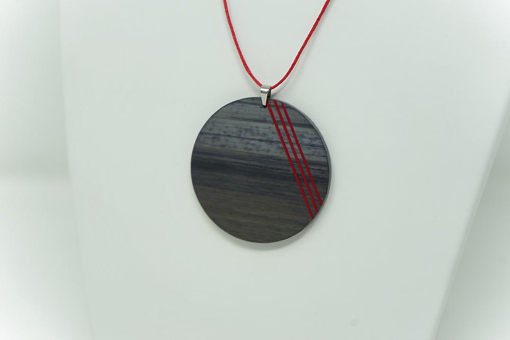 Kette Funambule (rote Streifen)
